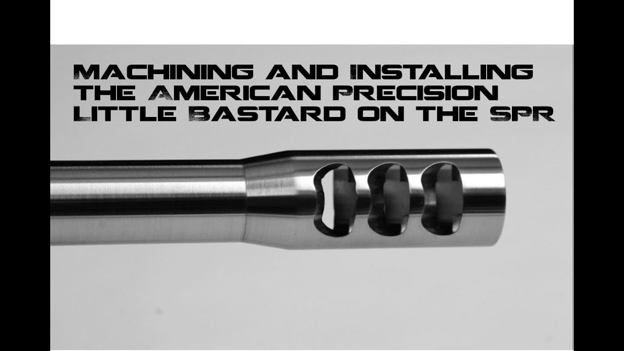Machining a Muzzle brake to the AR-10