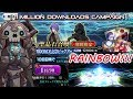 FGO 11 Million Campaign King Hassan Summon - Single Only - RAINBOW!!