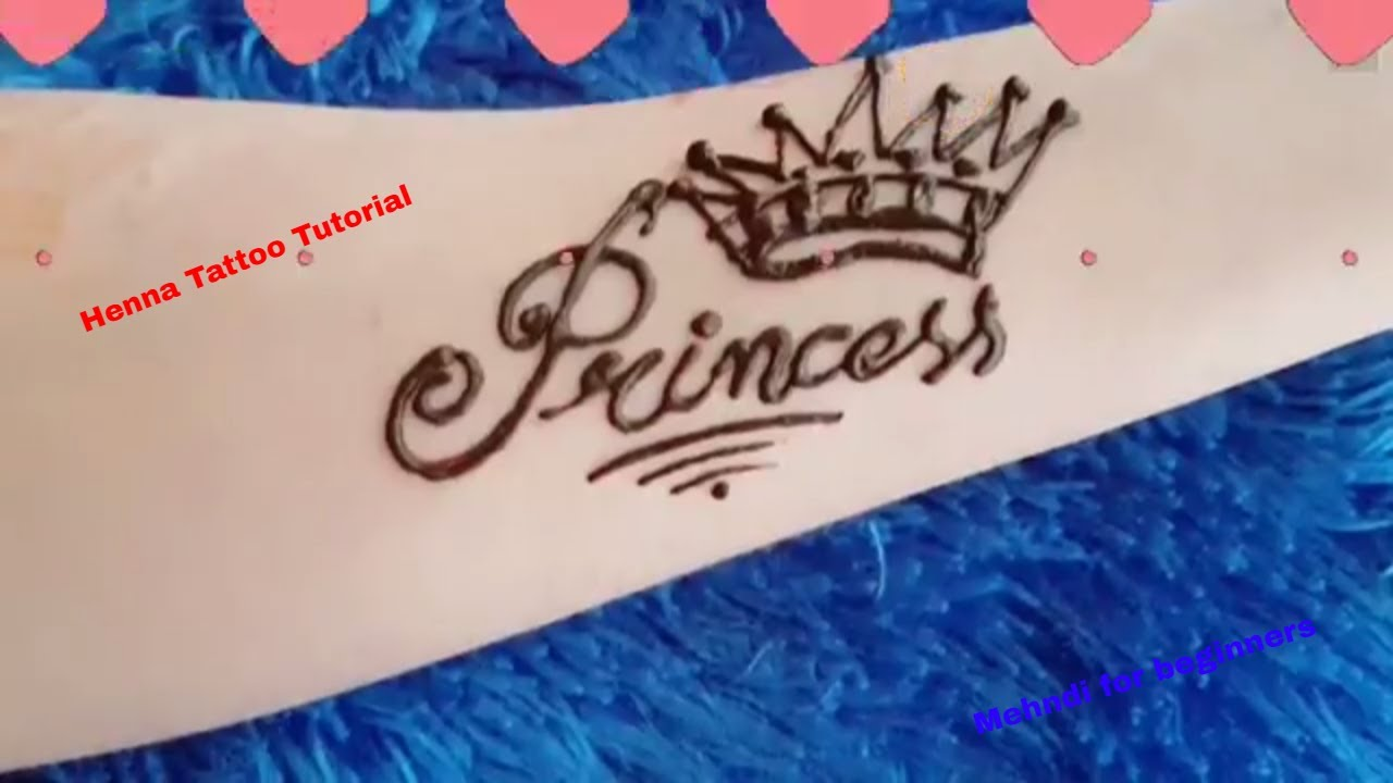 Henna Tattoo Tips : Easy temporary henna tattoo tips and tricks princess