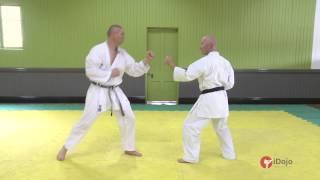 Уроки каратэ: встречная атака в каратэ