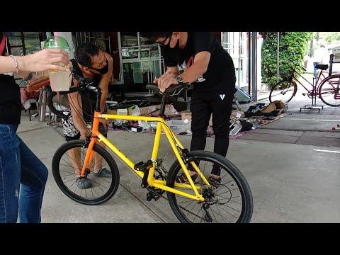 ดูจักรยาน มินิหมอบ เสือหมอบmini สีสะท้อนแสง เฟรมจักรยานสุดเท่ JAVA OPTIMA  | FC BMX แวะทักทาย