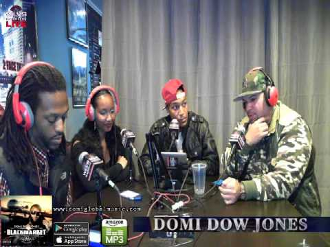 Domi Dow Jones 12/12 Radio Show on Listen Vision Live