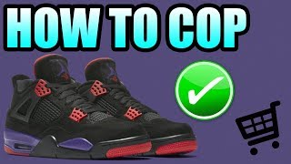 How To Get The JORDAN 4 RAPTOR ! | Jordan 4 NRG Raptor Release Info !