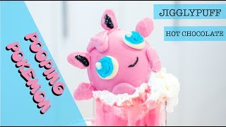 JIGGLYPUFF HOT CHOCOLATE | PRETTY PASTEL POOPING POKEMON