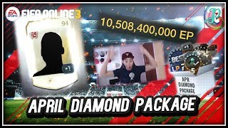 ~Holy Moly 10 Billion~ April Diamond Package 2018 Opening - FIFA ONLINE 3