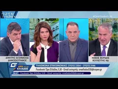 Ο Μάκης Βορίδης στο OPEN για το δάνειο του Παύλου Πολάκη