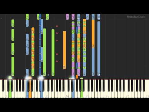 The Cranberries - Zombie (Instrumental Tutorial) [Synthesia]