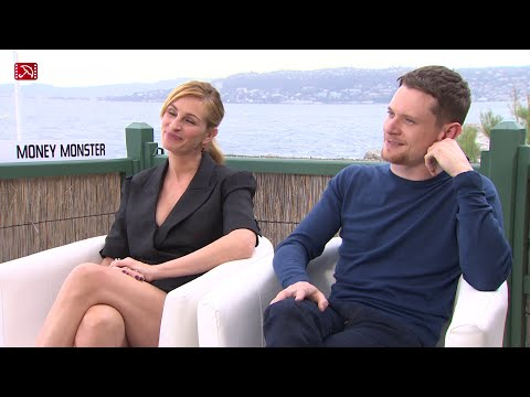 Julia Roberts & Jack O'Connell MONEY MONSTER Cannes 2016