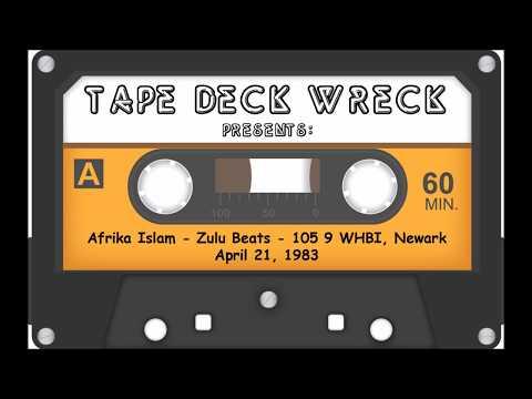 Afrika Islam - Zulu Beats - 105.9 WHBI Newark, April 21 1983