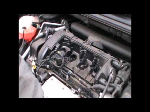 spark plug replacement on a Peugeot 308