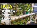 Window Sill Ledge shelf for plants