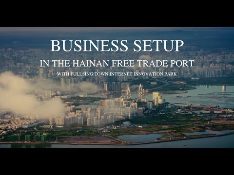 Setting up a business in Fulling Town, Haikou City, Hainan Island, China