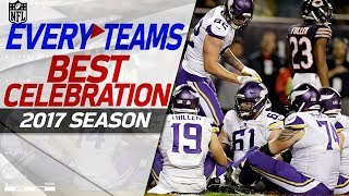 Every NFL Team's Best Celebration from the 2017 Season! | NFL Highlights