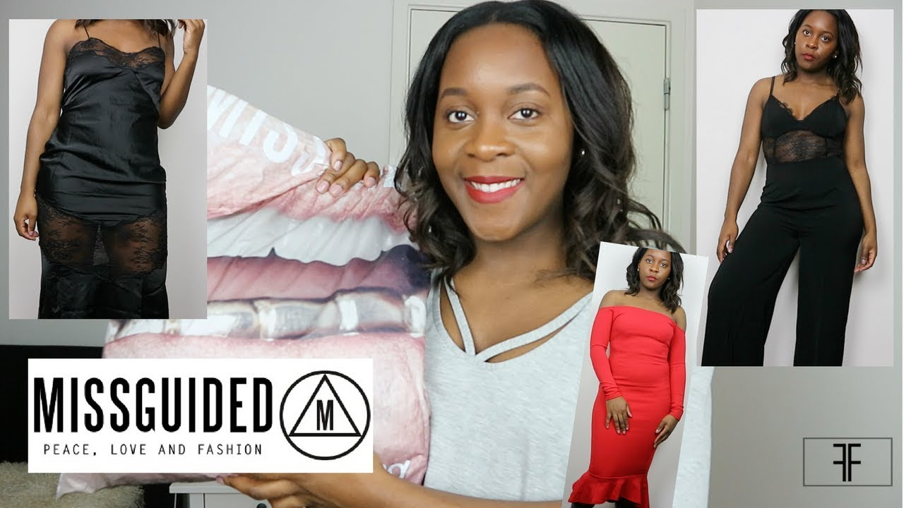72a55a1a6f8 MISSGUIDED HAUL CHRISTMAS   NEW YEARS PARTY OUTFIT IDEAS - YouTube