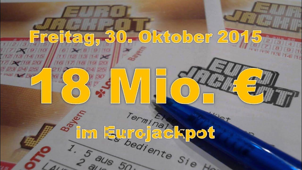 Ziehung Euro Jackpot