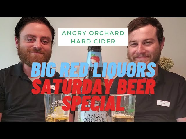 Angry Orchard Review by Big Red Liquors
