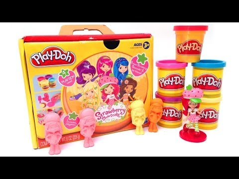 Play Doh Strawberry Shortcake and Friends Hasbro Toys Tarta de Fresa Frutillitas Fresita