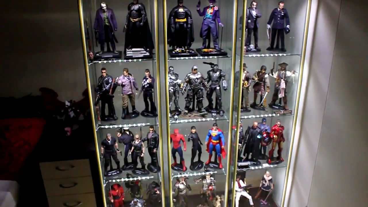 Hot Toys Detolf Display Cabinet Tips Youtube