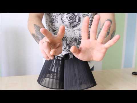 Как за 1 минуту сделать люстру своими руками