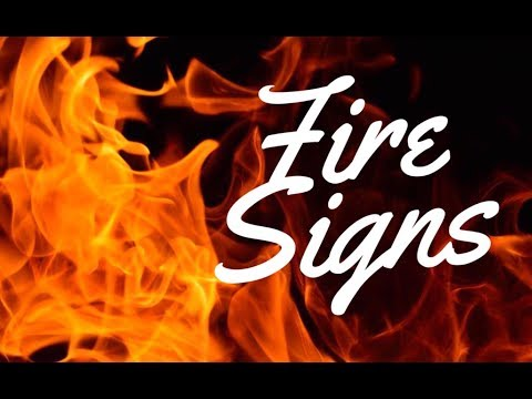 FIRE SIGNS (Aries, Leo & Sagittarius) | Hannah's Elsewhere