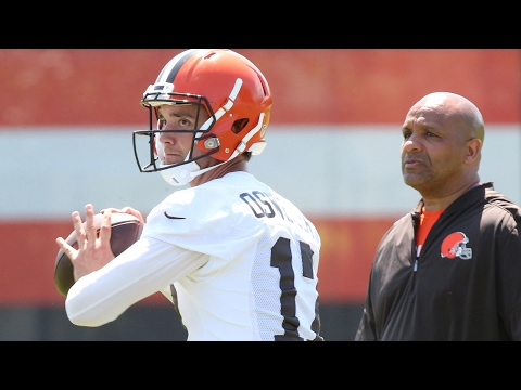 Brock Osweiler catches the eye of Browns' Hue Jackson