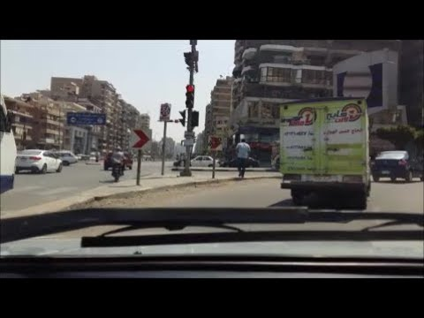 Cairo Driving Dash Cam: Video(3): Nasr City, Abas El Akad