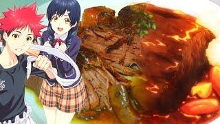 Beef Bourguignon Recipe 食戟のソーマ (Making Food Wars Food in Real Life) Shokugeki no Soma