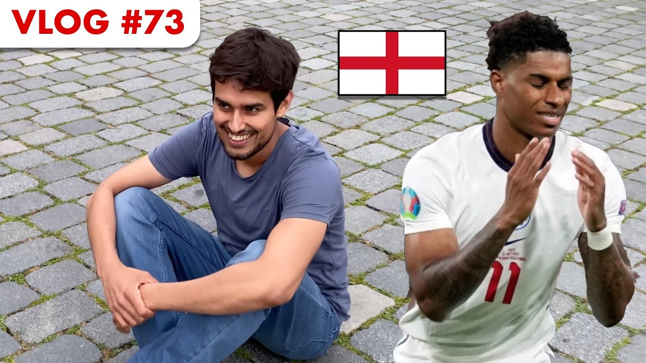 Watching England Lose the Euro Cup! | Dhruv Rathee Vlogs