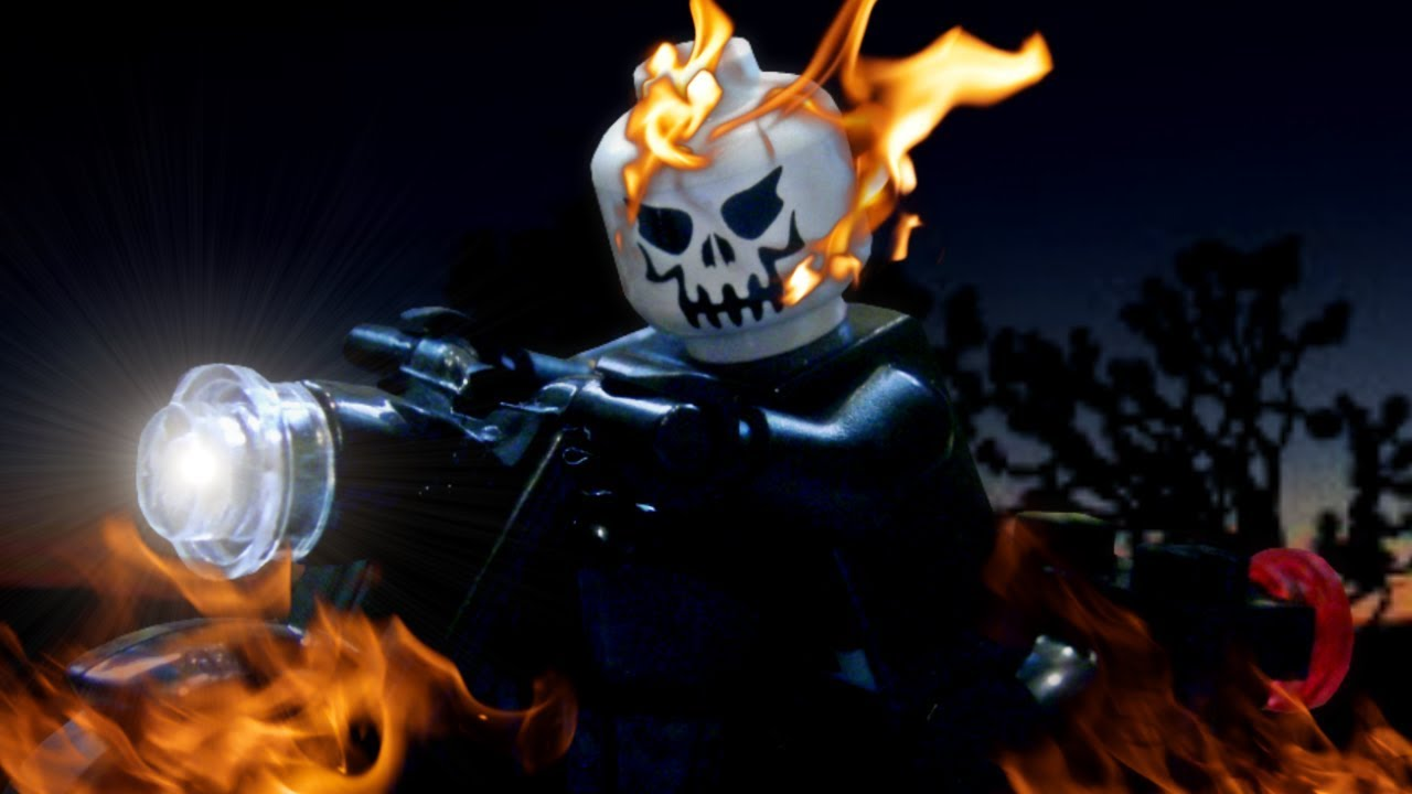 lego ghost rider 2 ghost rider and his motorcycle youtube