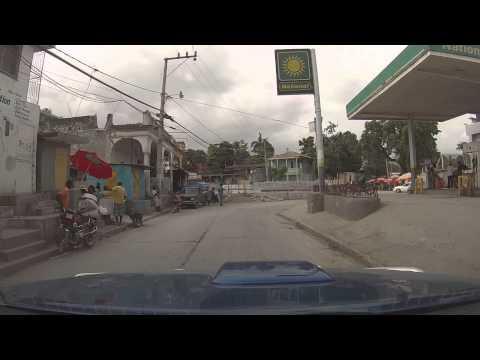 Jacmel, Haiti - Avenue de la Liberte & Leaving the City