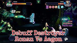 Ronan vs Aegon Boss Fight | Marvel contest of champions