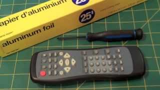 Quick Hack- Boost Range of TV Remote