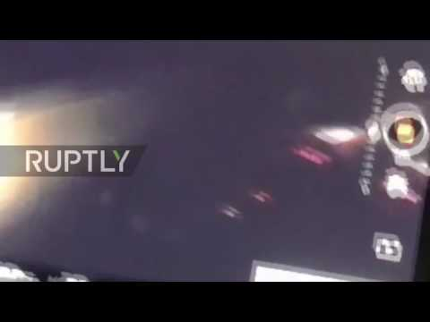 USA: Police 'shoot' at protester's drone during Dakota Pipeline clashes