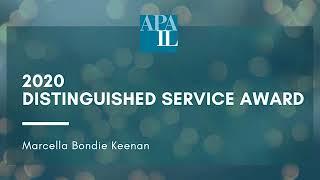 2020 Distinguished Service Award - Marcella Bondie Keenan