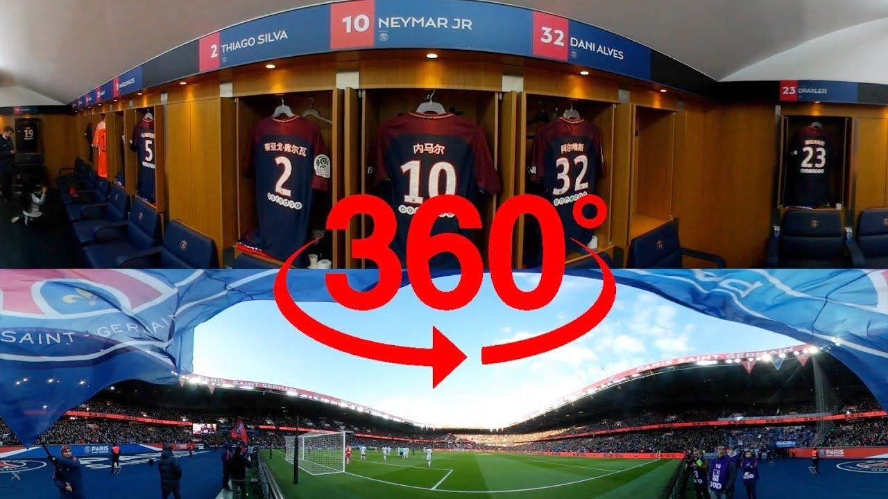 360 VIDEO – A VR 360 GAME AT THE PARC DES PRINCES – GOALS Neymar Jr, Edinson Cavani
