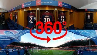 360 VIDEO - A VR 360 GAME AT THE PARC DES PRINCES - GOALS Neymar Jr, Edinson Cavani