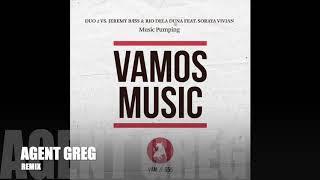 Gambar cover Duo 2 Vs. Jeremy Bass & Rio Dela Duna Feat. Soraya Vivian - Music Pumping (Agent Greg Radio Edit)
