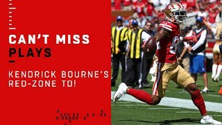 San Fran's Kendrick Bourne Snags TD Toss from Jimmy G!