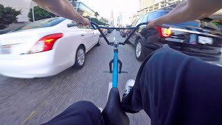 BMX in the Los Angeles Streets!