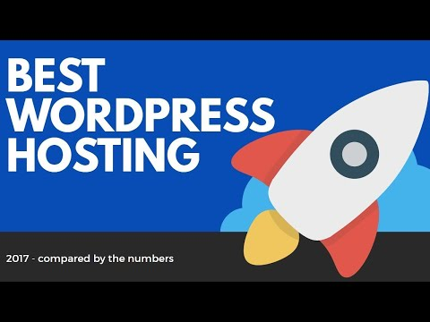 Best WordPress HOSTING 2017 - Top 3 Providers Compared By The Numbers