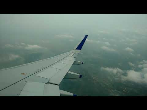 Landing in Biju Patnaik International Airport Bhubaneswar, India
