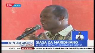 Tuju asema kuwa hana kinyongo na Raila Odinga