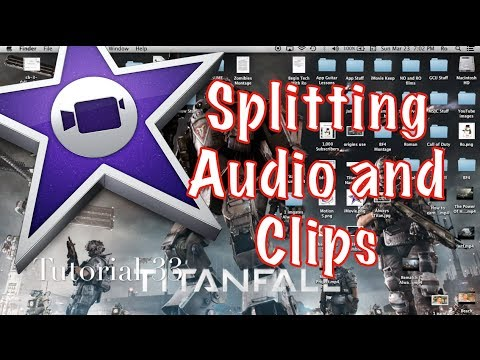 how to add audio clips to imovie