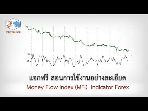 Money Flow Index (MFI)  Indicator Forex แจกฟรี สอนการใช้งานอย่างละเอียด