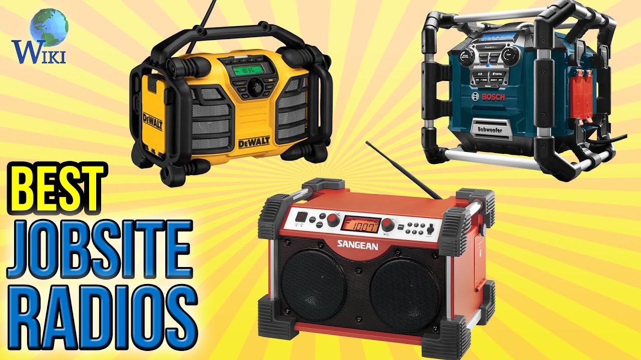 best jobsite radios  9 best jobsite radios 2016
