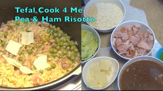 Pea and Ham Risotto Tefal Cook 4 Me mini review cheekyricho video recipe episode 1,016