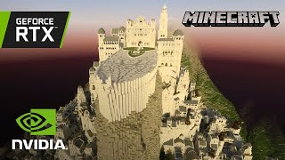 Minecraft with RTX | Minas Tirith by Minecraft Middle-Earth