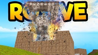 BIGGEST BASE RAID! ROVIVE | Roblox *huge explosion*