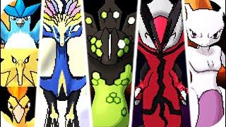 Pokemon X & Y - All Legendary Pokémon Battles (1080p60)