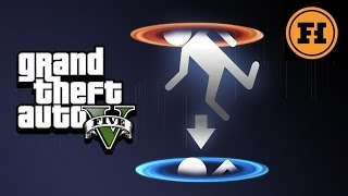PORTALS in GTA 5!  - Mod Gameplay